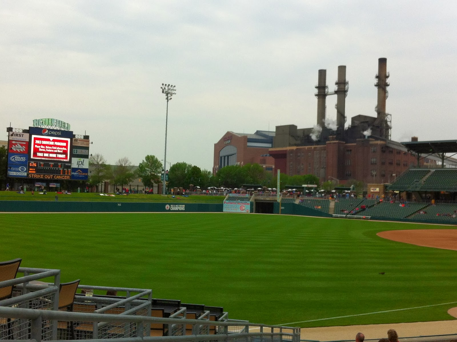 Victory Field from LF - Indianapolis
