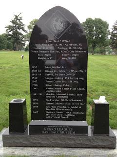 Buck O'Neil Memorial - back - Kansas City