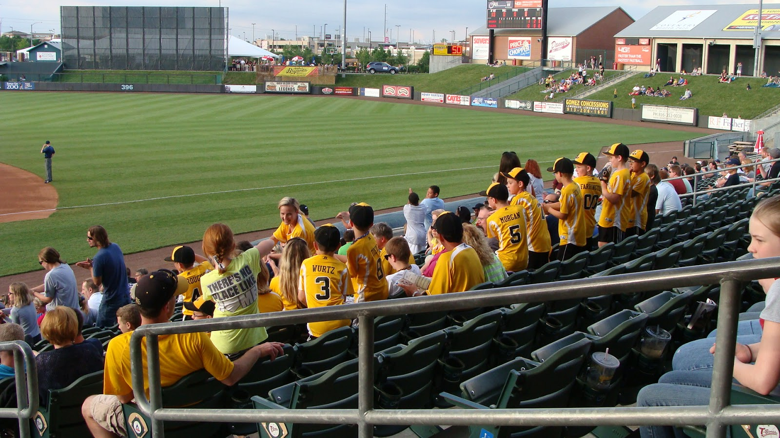 Community America Ballpark RF - Kansas City